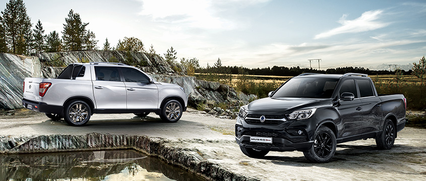 2020 SsangYong Musso and Musso Grand Black