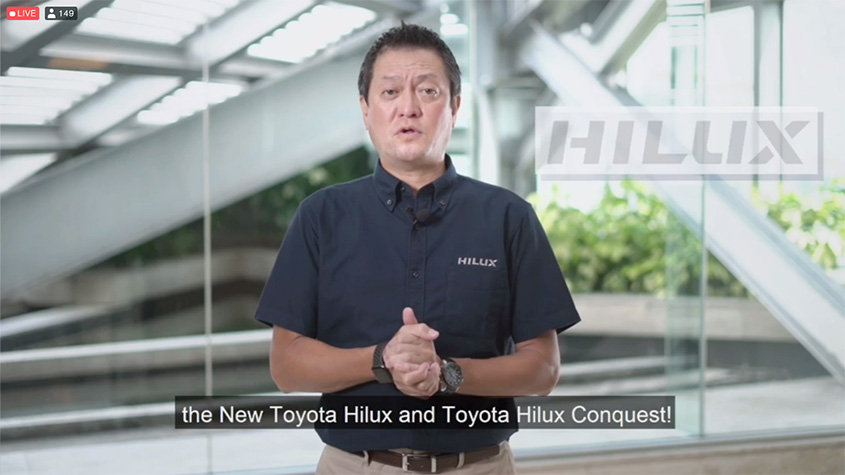 2020 Toyota Hilux Launch f
