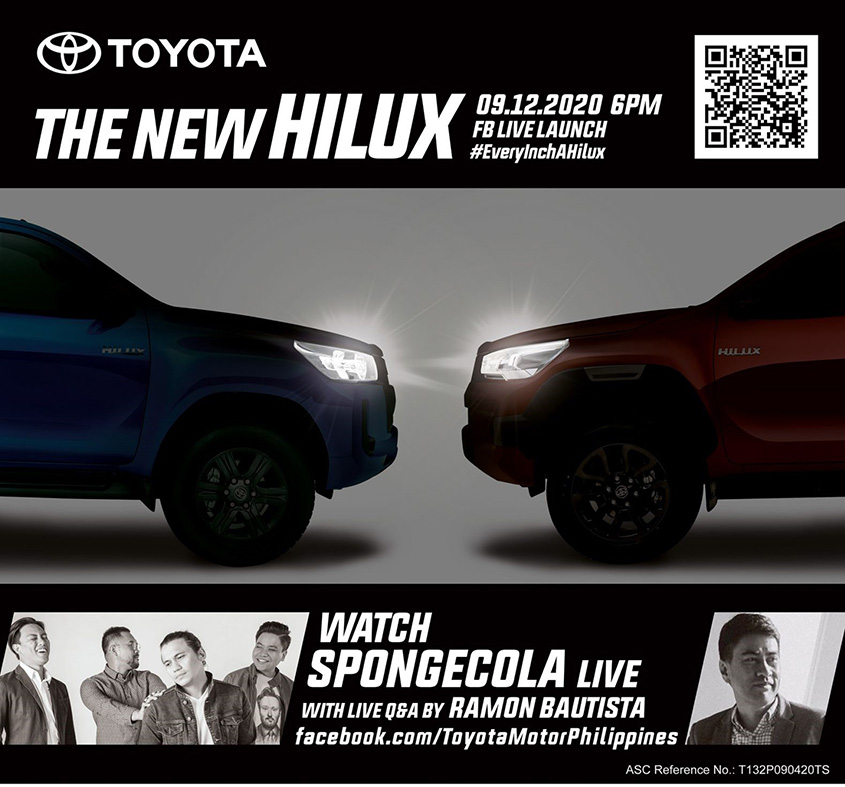 2020 Toyota Hilux Teaser poster